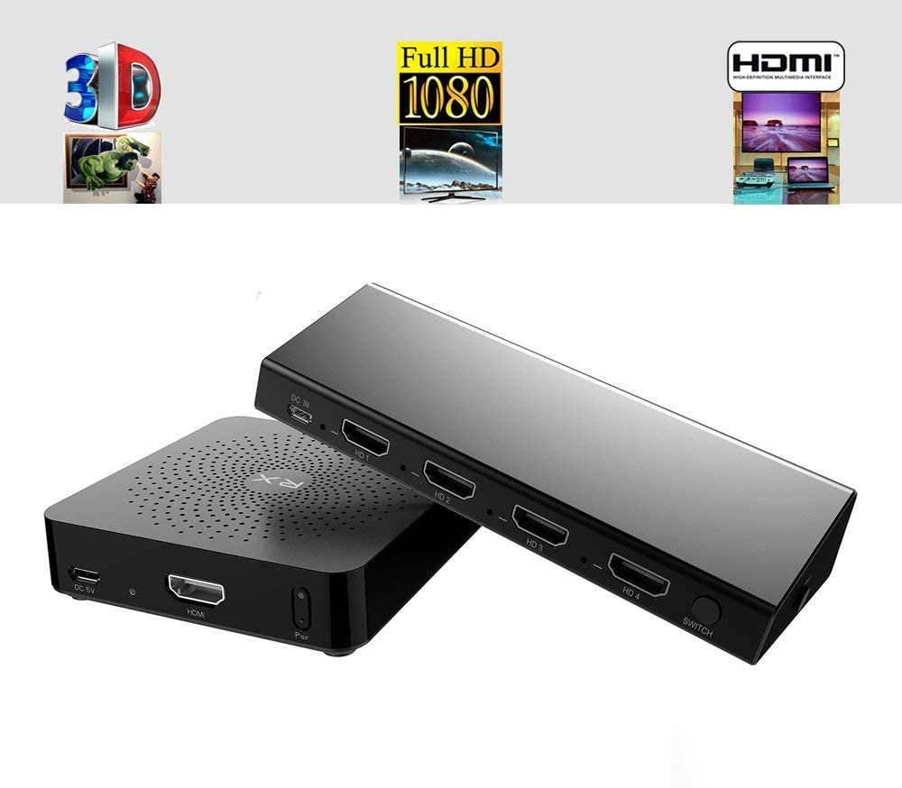 Transmisor de Audio Medida W2H MAX Transmisor HDMI: Amazon.es: Electrónica