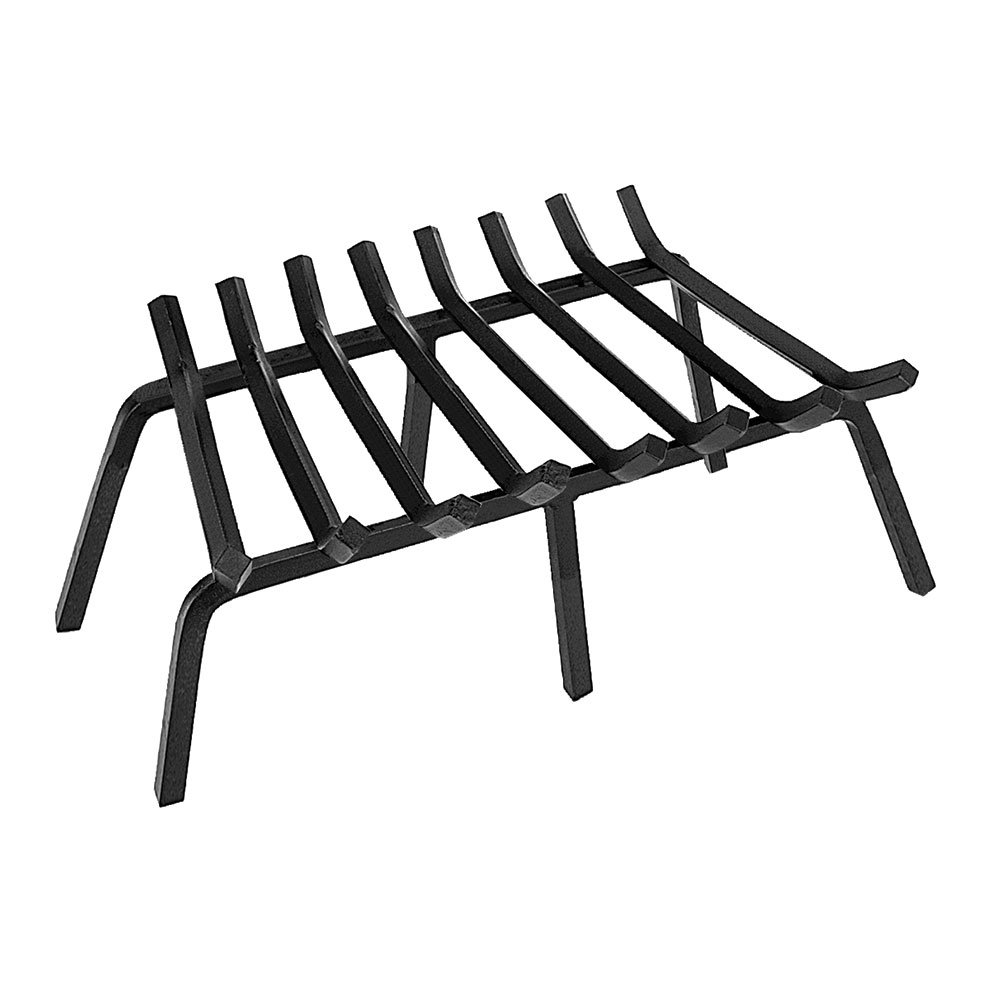 B001BZJ55O Minuteman International Tapered Iron Fireplace Grate, 28-in x 17-in 61gM4E2B1w6L
