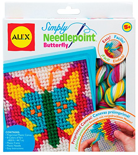 ALEX Toys Craft Simply Needlepoint