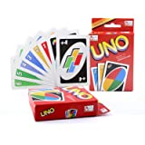 Younglingn Classic 108 English Fun Cards Game Board Game UNO Standard for Family Fun Number One