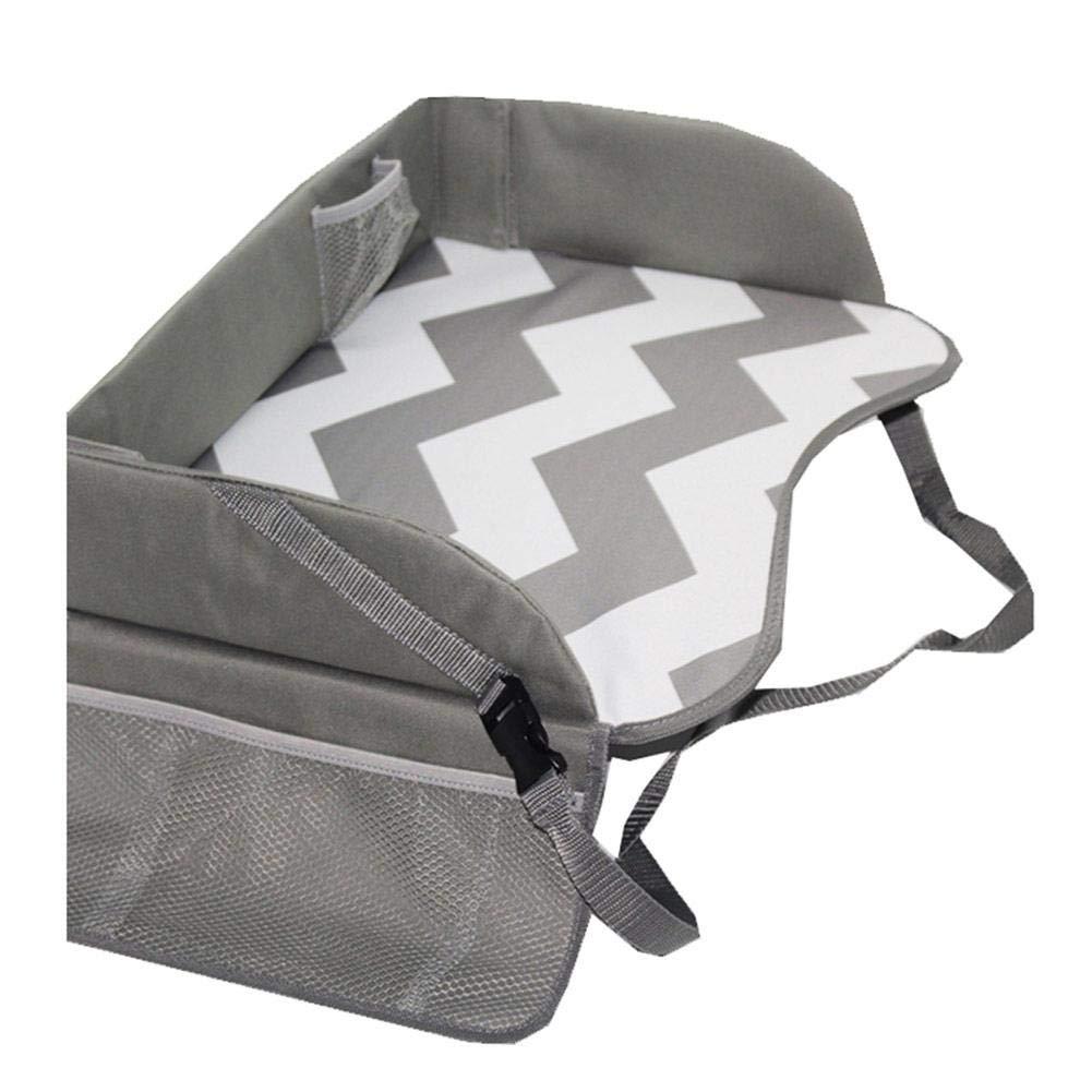Bandeja de viaje para niños, bandeja para snack, asiento de coche para niños: Amazon.es: Bebé