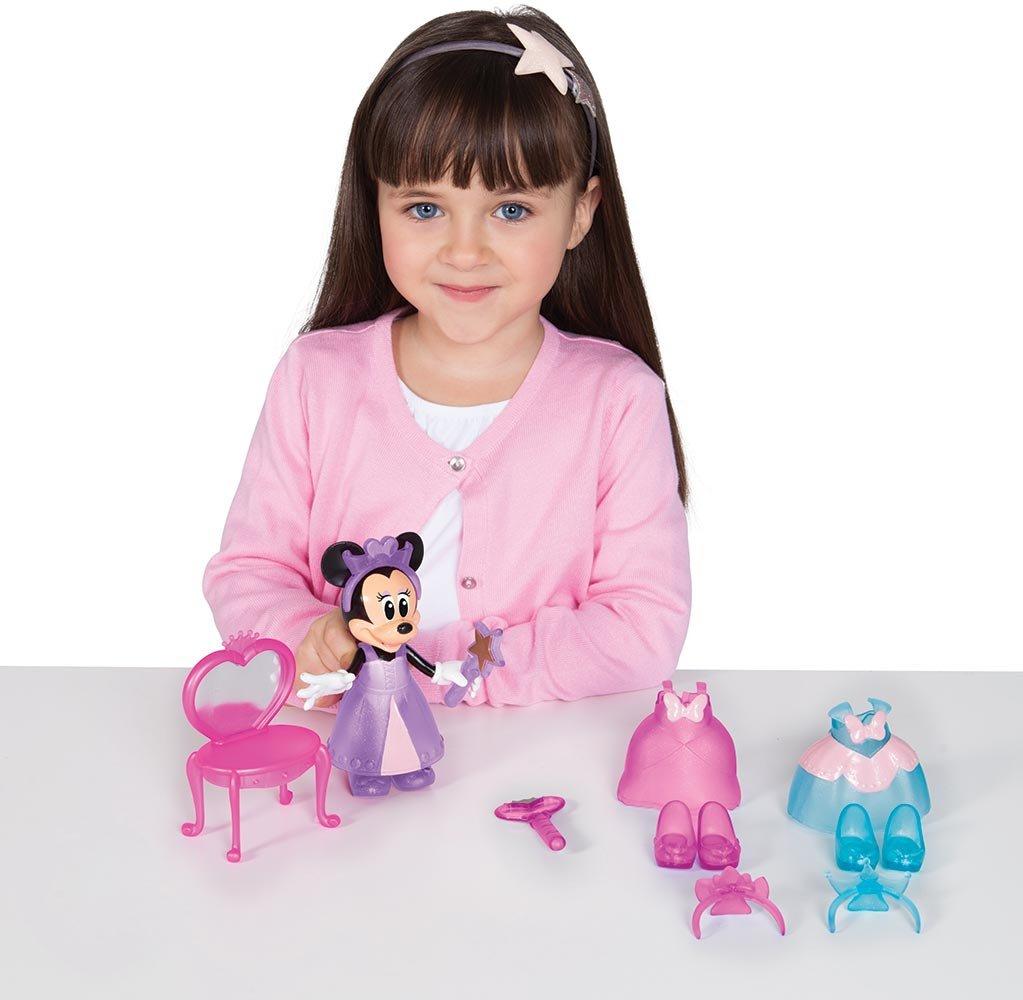 IMC Toys- Disney Minnie Princesa de Ensueño (182172)