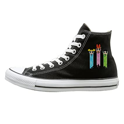 d2ff8e17a6ecc Amazon.com: VIBB Unisex Powerpuff Girls Dancing High Top Sneakers ...