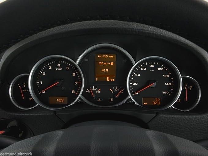 PORSCHE CAYENNE VW TOUAREG VDO INSTRUMENT SPEEDOMETER GAUGE CLUSTER LCD  SCREEN 2003 2004 2005 2006