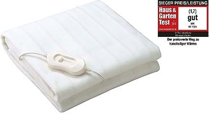 thermarelaxx suave – Calientacamas/Manta térmica con calentamiento rápido y apagado automático, 150 x