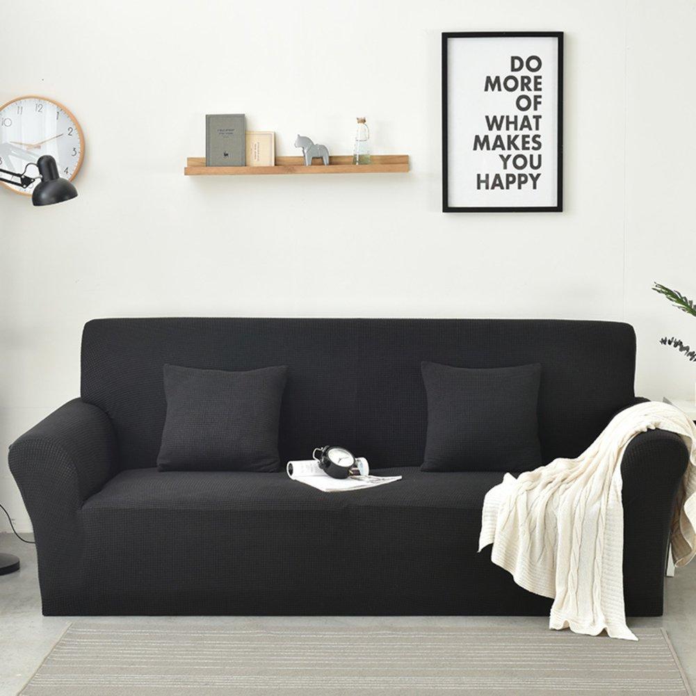 DW&HX Elastische einfarbige Wasserdichte sofabezug,Schmutz-Beweis Anti-rutsch Kombination-sofakissen Lattice Vier Jahreszeiten Jahreszeiten Jahreszeiten Sofa slipcover -Kiefer grün 2-sitzer 1b944d