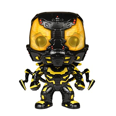 Funko POP Marvel: Yellow Jacket Ant-Man Action Figure: Funko Pop! Marvel:: Toys & Games
