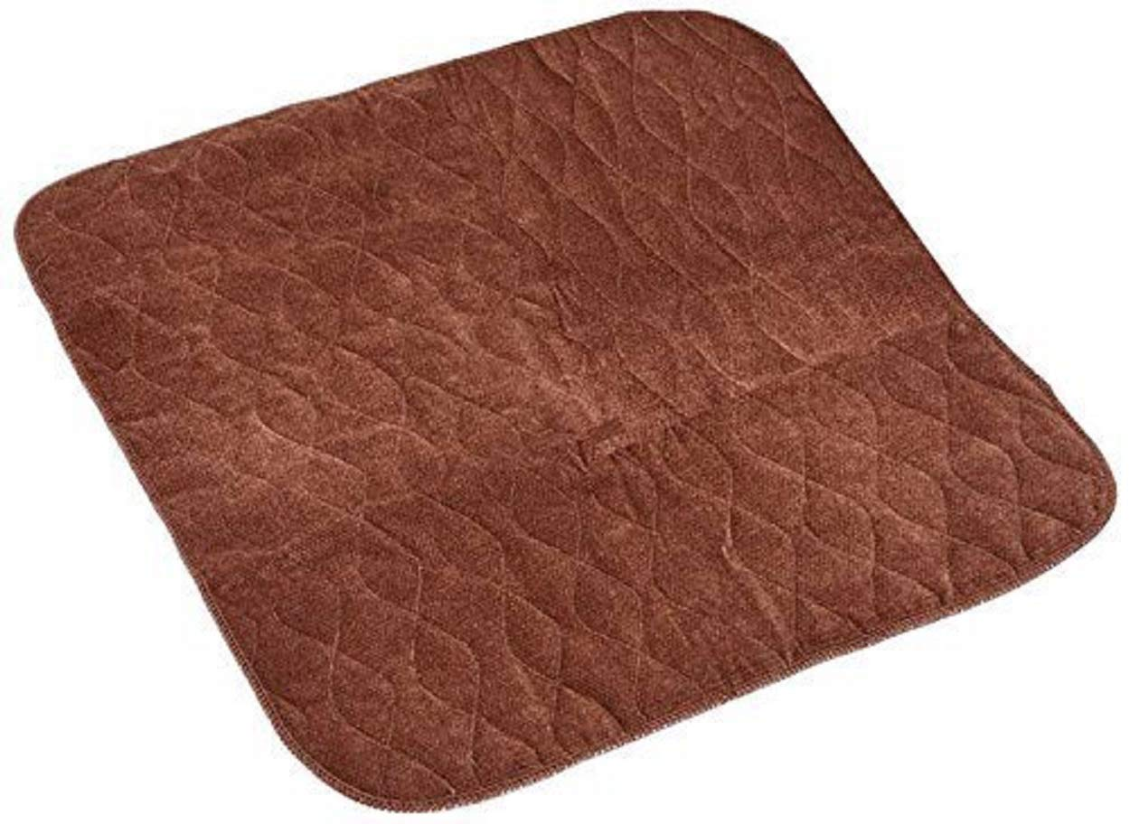 Washable Velour Chair Pad, I Litre Absorbency, Size 50 x 40 cms. (Burgundy) Shellmark