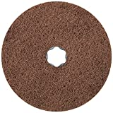 PFERD 48137 Combiclick Non-Woven Disc, Soft Type, 5'' Diameter, 9,650 RPM, Very Fine Grit (Pack of 10)
