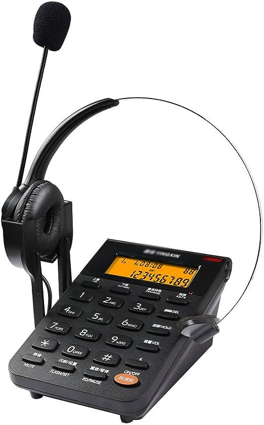 Landline Teléfono fijo de atención al cliente Auricular de ...
