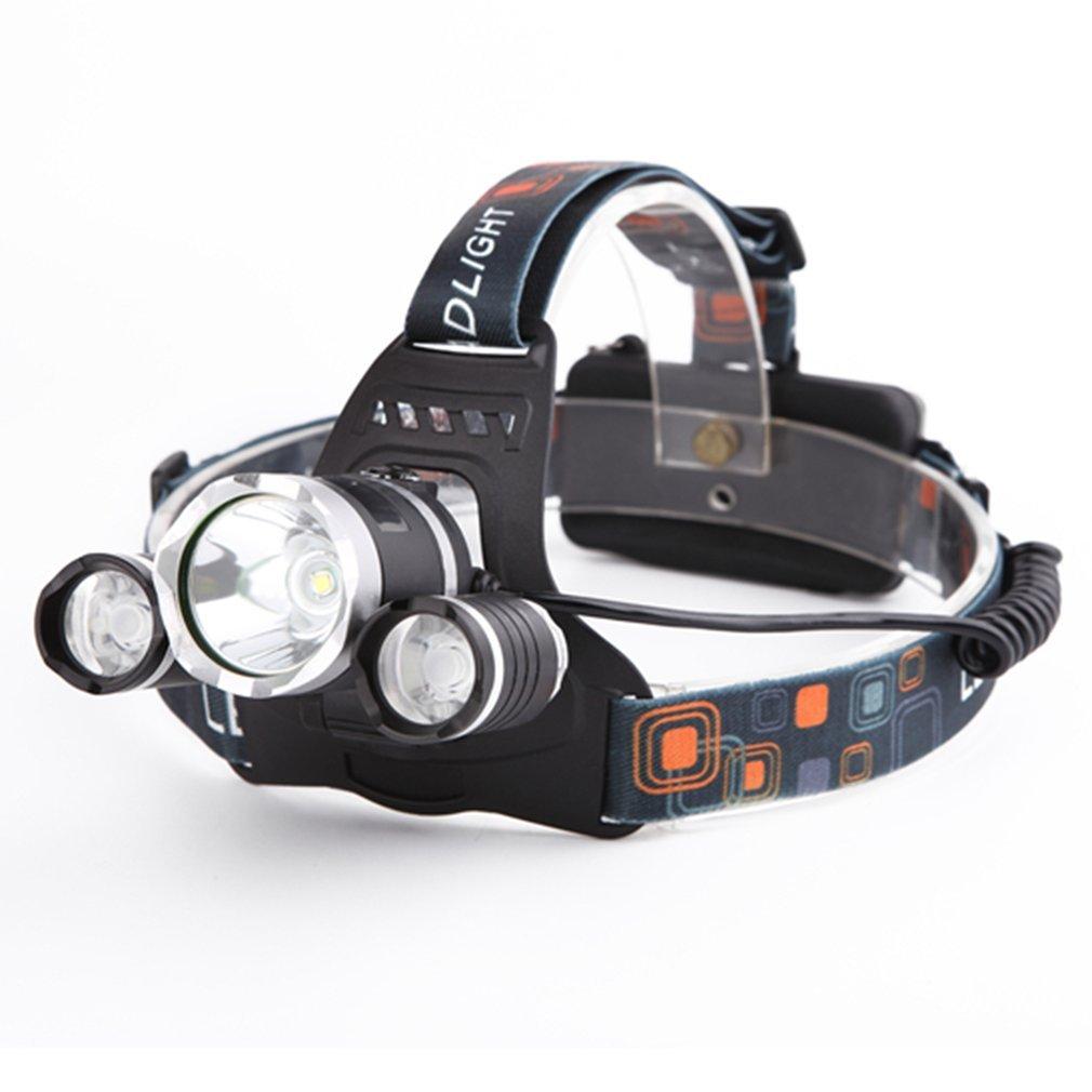 con 4 Tipos de Luz Ideal para Camping Pesca Ciclismo Carrera Caza y M/ás Deportes Linterna Frontal Led Recargable de Alta Potencia 9000 L/úmenes EUROXANTY/®