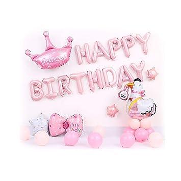 Siyushop - Globo para decoración de cumpleaños de niña ...