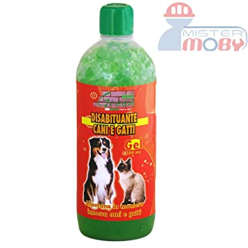 DISUASIVO REPELENTE AHUYENTA ANTI PERROS GATOS NATURAL GEL (+ DURACION) 1 LT: Amazon.es: Jardín