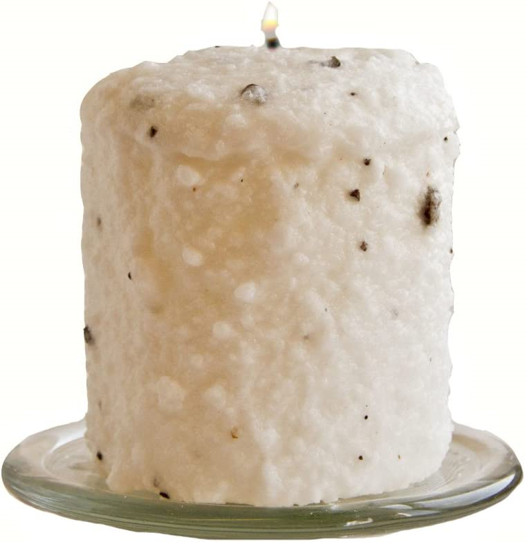Warm Glow Candle Company Creamy Vanilla Bean Hearth Pillar Candle