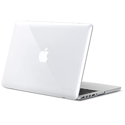 on sale 3af9f 32c66 Kuzy - Older MacBook Pro 15.4 inch Case Model A1398 with Retina Display  Soft Touch 15 inch Plastic Hard Shell Cover - Clear