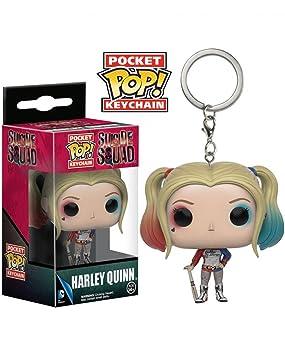 Harley Quinn Llavero POP bolsillo: Amazon.es: Juguetes y juegos