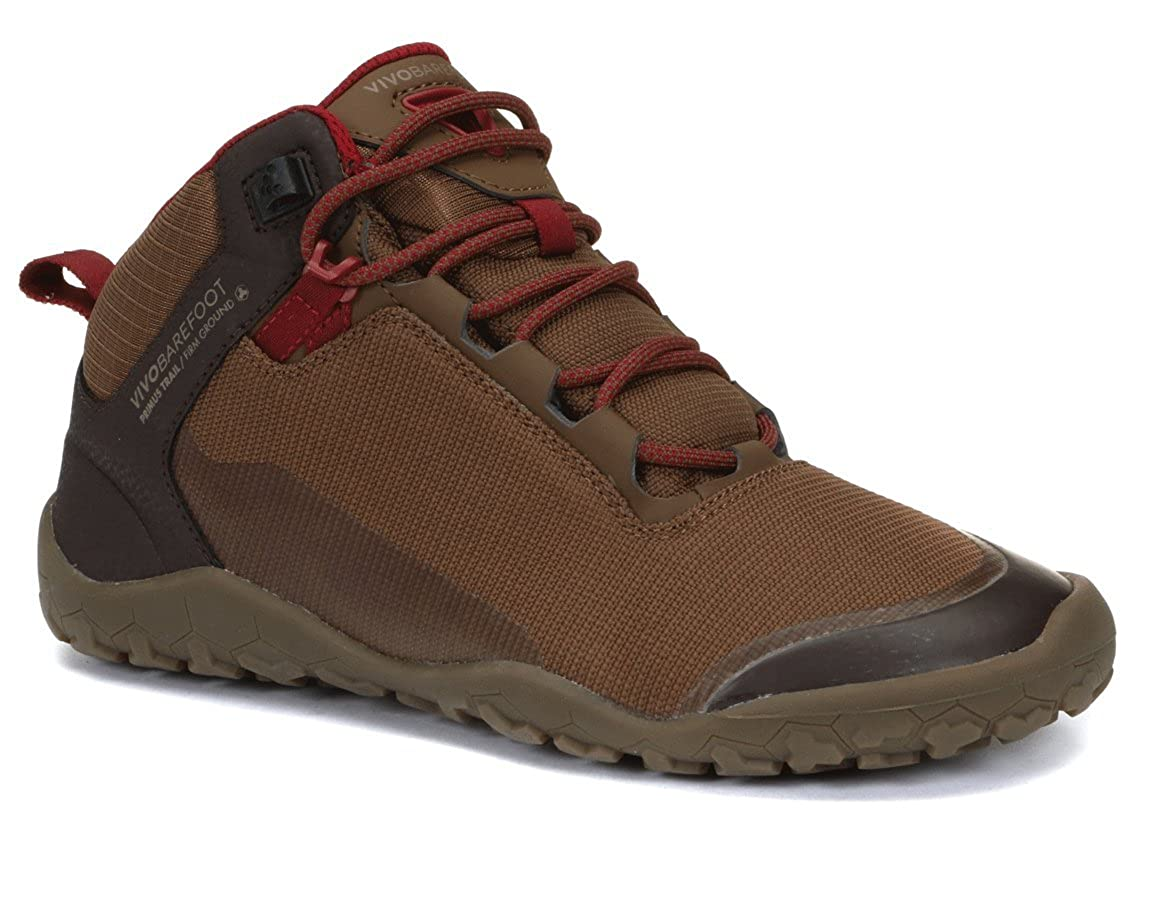 Vivobarefoot Hiker Soft Ground Black Women Mesh Lace-up Ankle Boots