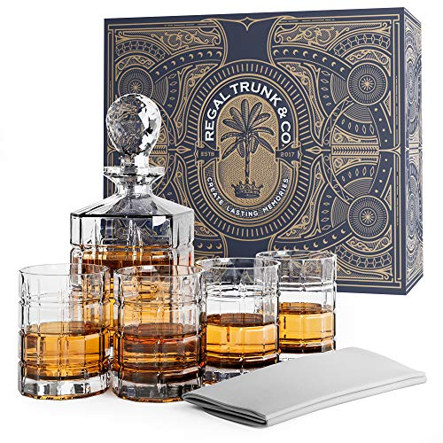 Elegant Piece Whiskey Decanter Set product image