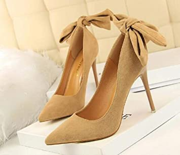 Wisdom Señora Súper Zapatos De Tacón Alto Zapatos Sin Mangas ...
