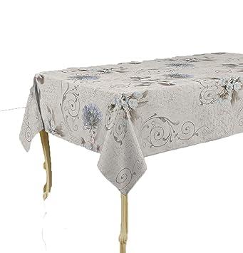 CIRAD Table Salon Jardin Imprimés Antitaches Couleurs Printanières ...