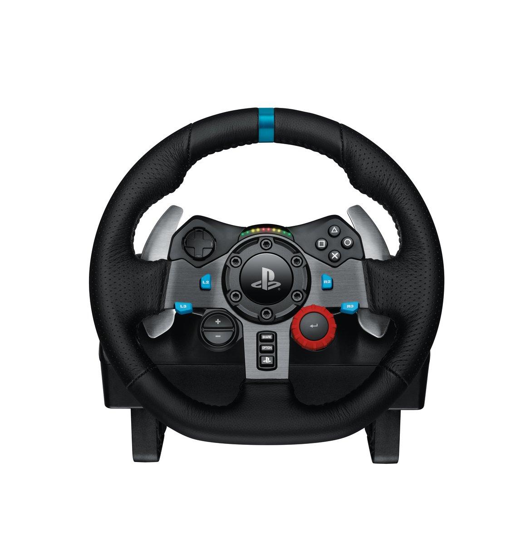 [amazon.co.uk] Logitech G29 Driving Force Volante da Corsa, per Playstation 3 e 4 per 238,51€