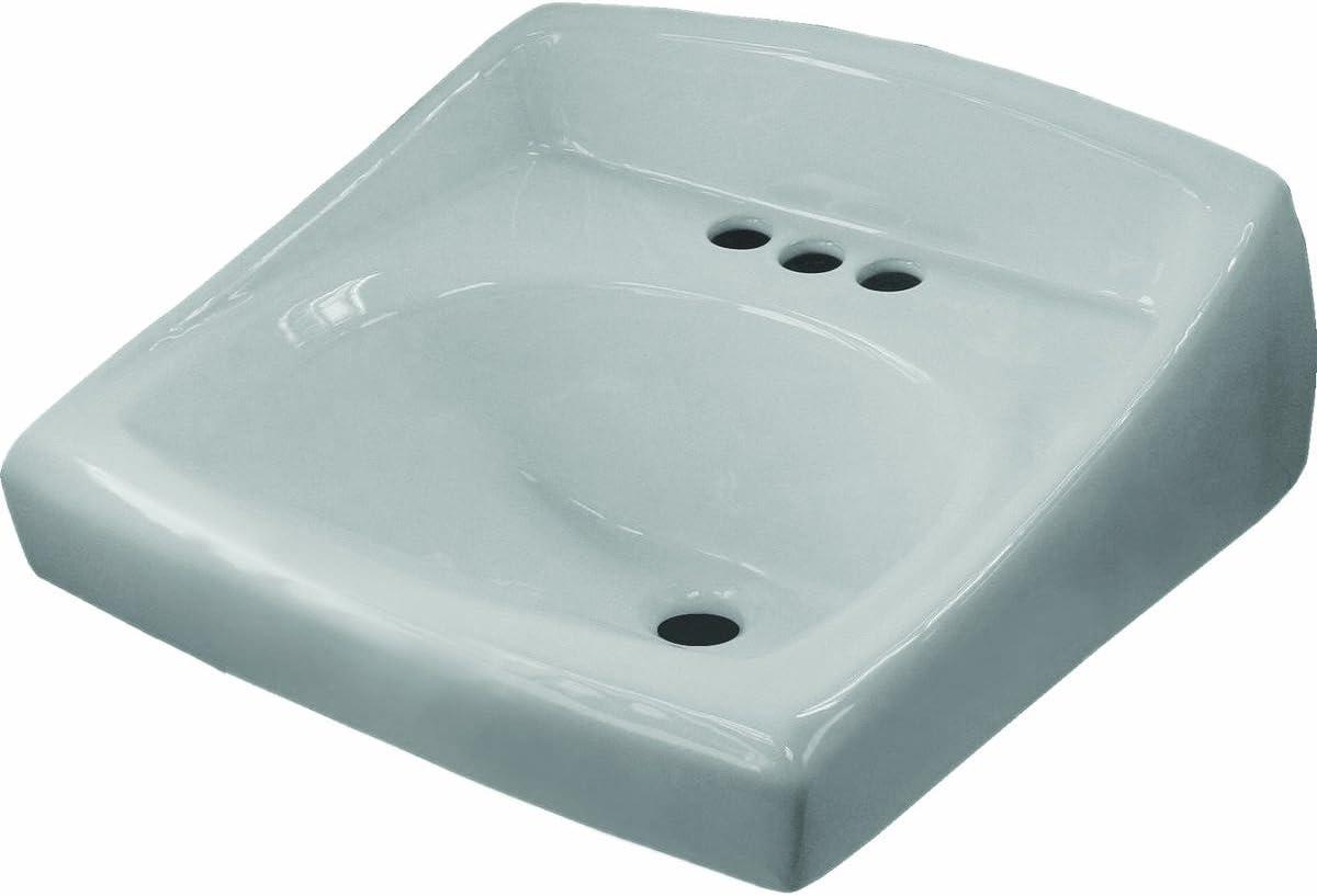 - Sloan Valve SS-3003 Wall Hung Vitreous China Lavatory Sink With