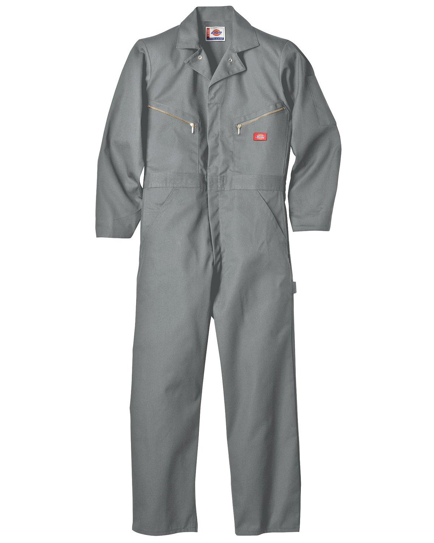 (ディッキーズ) DICKIES 長袖 つなぎ デラックスカバーオール 4879 【並行輸入品】 B00C0MNF3A L(日本サイズXL相当)|グレー グレー L(日本サイズXL相当)