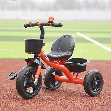 Baby Balance Bicicletas Bicicletas Bicicletas Niños Triciclos Walker con manija de empuje para la dirección y el juguete Cubo de arena Paseos para niños pequeños Trike 3 ruedas Bicicleta para niños de: