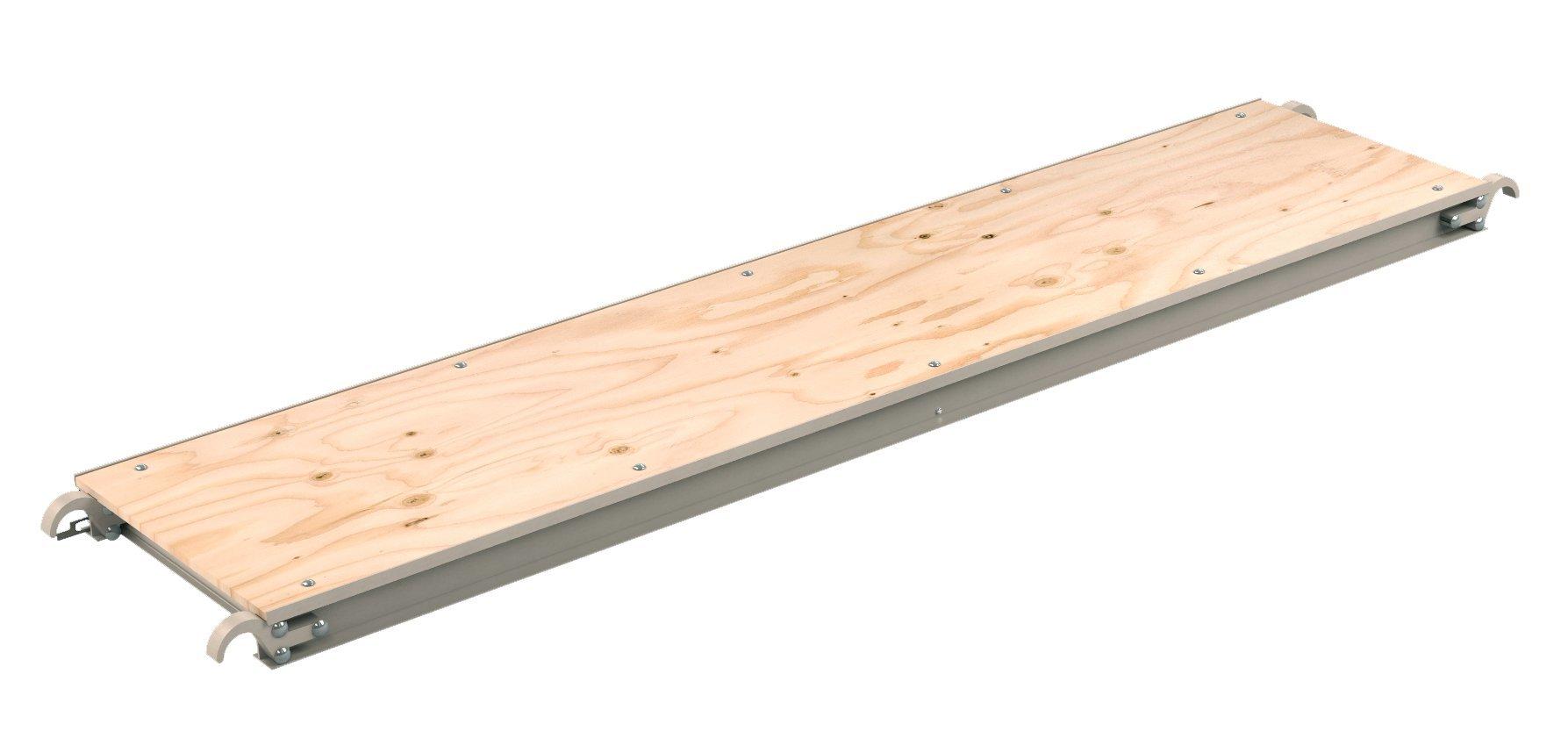 Bon 14-286 7-Feet Aluminum Scaffold Plank