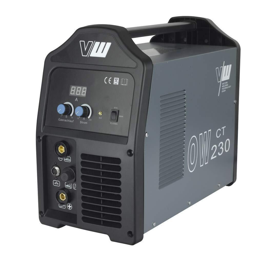 Vector sudor dispositivo DC Wig ow230 Pulso M. Plasma Inverter TIG Cut MMA electrodo MOSFET/Wig, TIG/Plasma/MMA, Arc - de 3 en 1 - -Top Precio ...