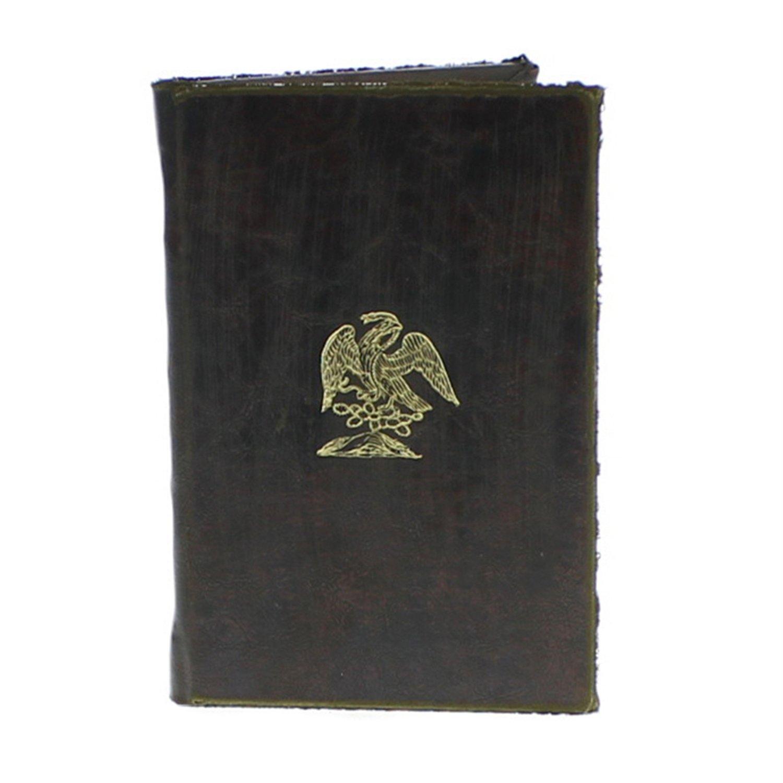 HomArt Royal Embossed Journal - Eagle (Brown) (Set of 12)