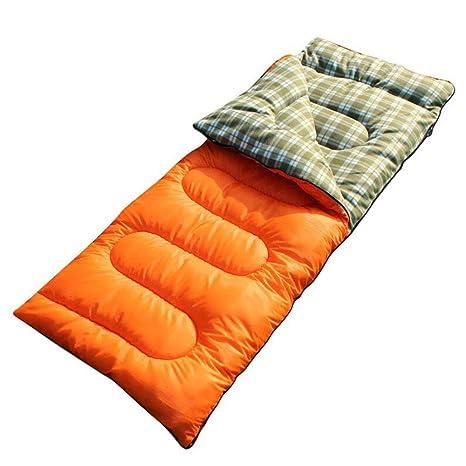 Jcnfa-saco de dormir Otoño E Invierno Al Aire Libre Grueso Caliente Abajo Algodón Individual