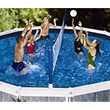 Solstice by International Leisure Products Cross Pool Volly Above Ground Vollyball Game