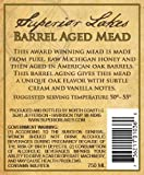 NV Superior Lakes Barrel Aged Mead 750 mL