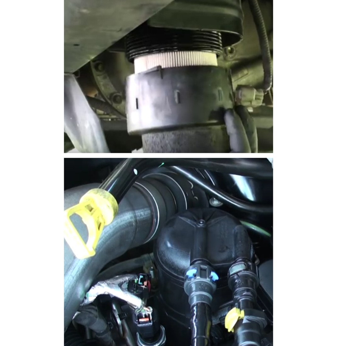 Fd 4615 5 Micron Fuel Water Separator Filter For Ford 2011 F 250 Cap Truck Pickup 2016 350 450 550 Super Duty 67l V8 Diesel Engines