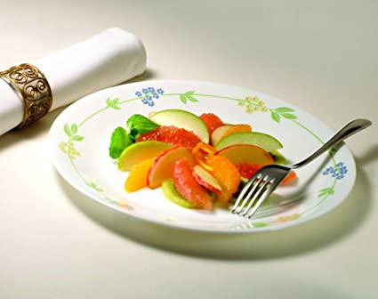 Corelle Livingware Secret Garden Dinner Set, 20-Pieces