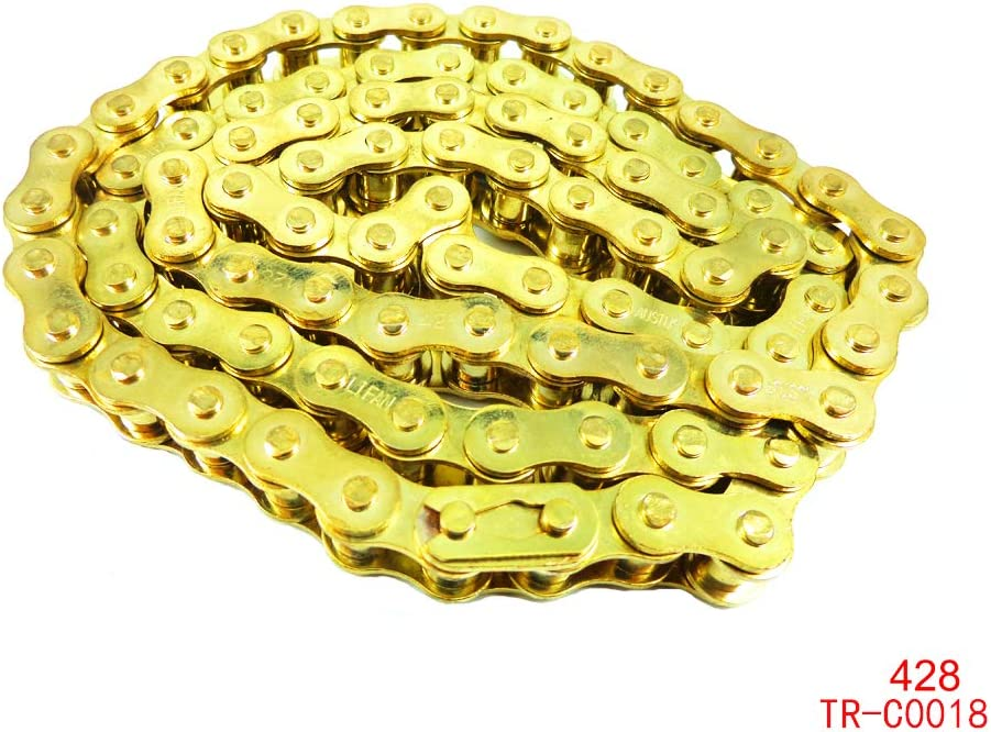 3* Gold 428 Joining Drive Chain Master Link 90cc 110cc 125cc Pit Dirt Bikes ATV