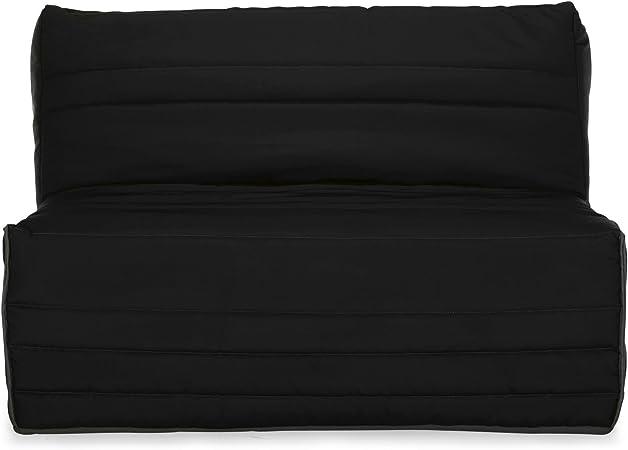 Alinéa Haïti Couette Noire Pour Bz L160cm Noir 65 0x50 0x25