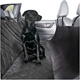 Plush Paws Ultra-Luxury Pet Seat Cover - 2 Harnesses 2 Seat Belts for Cars Trucks & Suv - Waterproof, NonSlip Silicone Backing