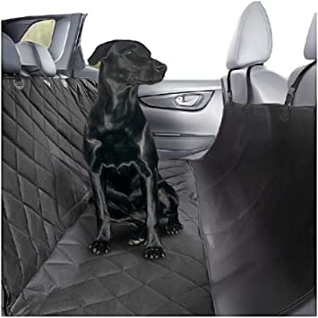 Plush Paws Ultra Luxury Pet Seat Cover With Anchors 2 Harness