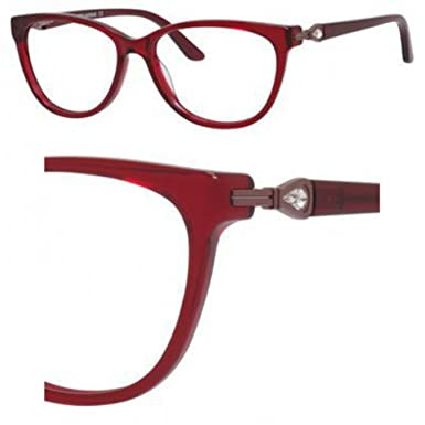 Eyeglasses Saks Fifth Avenue 302 0ETH Burgundy Crystal at Amazon ...