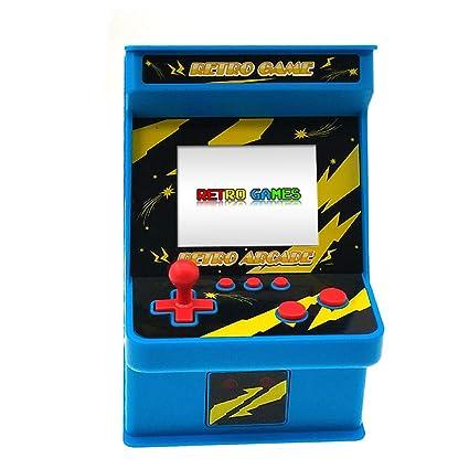 check out 3834d 9b179 Amazon.com: DigitCont Retro Mini Arcade, Built-in with 256 ...