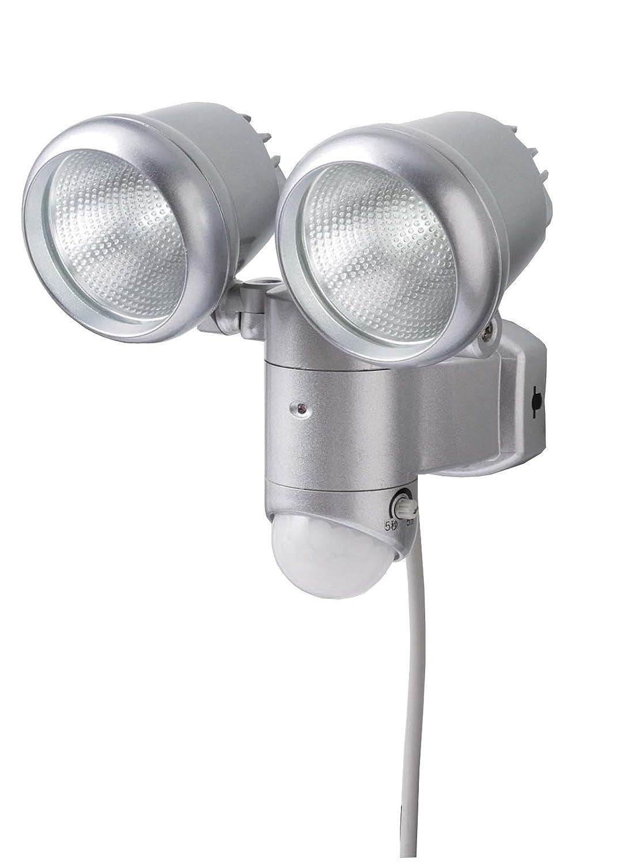 10WLEDセンサーライト 2灯式 DLA-300LW B00BMGC2RK
