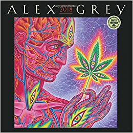 alex grey 2018 wall calendar
