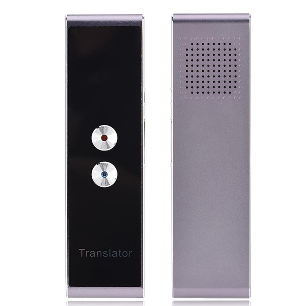 Language Translator, Portable Smart Two-Way Real Time Voice Translator Support More Than 30 Multi Languages Voice and Text Translation for Learning Travel Meeting Yosoo
