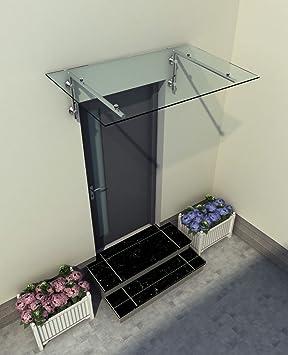 Gut bekannt 180 x 90 cm Glasvordach Vordach Türvordach Türdach Haustür WB72