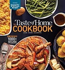 Featuring more than 1,000 family-favorite recipes, hints and tips, this brand-new edition of the popular Taste of Home Cookbook is an indispensable tool for today's home cooks. Look inside, and you'll find everything you need to set a hot and...