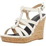 Sandalen/Sandaletten, farbe Beige , marke TOMMY HILFIGER, modell Sandalen/Sandaletten TOMMY HILFIGER EDEL 8A Beige