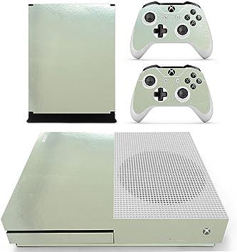 DOTBUY Xbox One S Vinly Protective Skin Sticker Consola + 2 mandos Decal + cámara Kinect 2.0 Pegatinas (Glossy Silver): Amazon.es: Electrónica