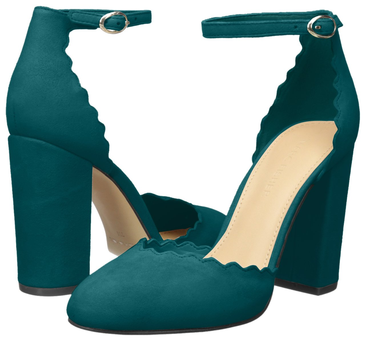 Marc Fisher Women's Sahar Pump B074SZF2WP 9.5 B(M) US|Medium Green